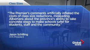 Teachers, NDP accuse Premier Kenney of misleading Albertans over cost of cutting class sizes