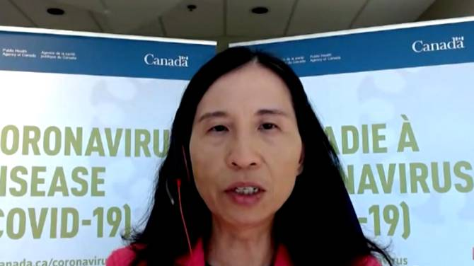 Click to play video: 75% of Canadians need 1st COVID-19 vaccine for less restrictions in summer, Tam says