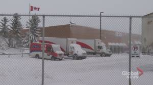 Travellers and deliveries impacted by southern Alberta winter storm (01:47)