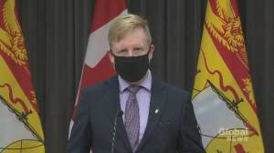 Coronavirus: New Brunswick education minister calls misinformation 'a virus' more dangerous than COVID-19 (00:52)