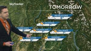 Kelowna Weather Forecast: October 30 (03:06)