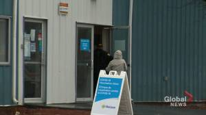 COVID-19 vaccination clinic delivers AstraZeneca vaccine to Saint John residents (01:38)