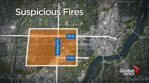 57 suspicious fires cause $1M in damage: Saskatoon Fire Department