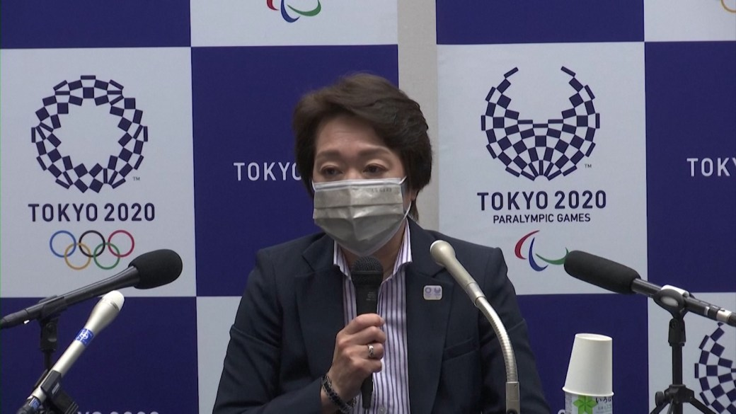 Click to play video: 'Tokyo 2020 president acknowledges possibility of Games cancellation, but continuing with preparations'