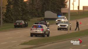RCMP investigate shooting death along Baseline Road in Sherwood Park (01:20)