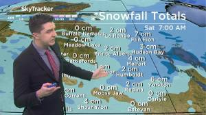 Flurries to end the week: March 25 Saskatchewan weather outlook (02:42)