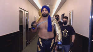 Richmond's Arjan Bhullar makes MMA history (06:18)