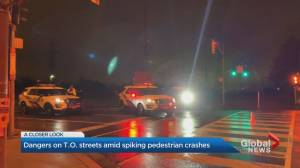 Surge in GTA pedestrian collisions creates concern as Halloween looms