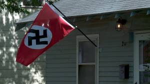 Woman shot four times after removing Nazi flag from Oklahoma home on a dare