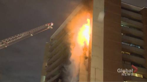 Tenants displaced by Toronto apartment fire say property ...