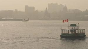 Smoky skies expected to stick around over most of southern B.C.