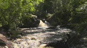 Father dies trying to rescue child at Okanagan waterfall on Father's Day