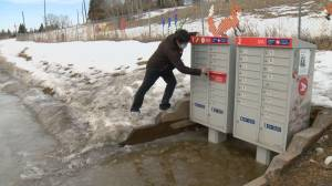 Ogden residents raise concerns about flooded community mailbox (01:49)