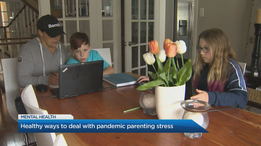 Click to play video: 'How parents can deal with stress while balancing kids and work'