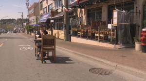 White Rock to close one lane of Marine Drive to extend restaurant patio space through summer (01:54)