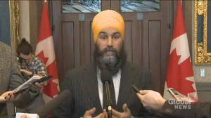 Singh calls Conservatives' non-confidence motion 'ridiculous' as rail blockades continue