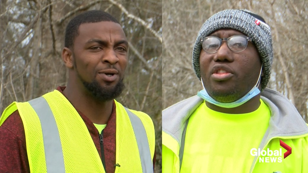 Click to play video 'Sanitation workers credited with saving missing Louisiana girl recount rescue'