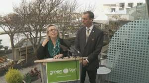 Federal Green Party asks RCMP to stand down