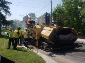 City of Peterborough continues with street resurfacing