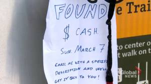 Calgary violinist returns lost money to rightful owner: 'She is an angel' (02:06)