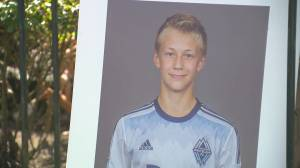 Accused acquitted in 2017 driving fatality of Whitecaps prospect (01:49)