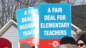 Rotating teacher strikes continue Global News is in Gananoque