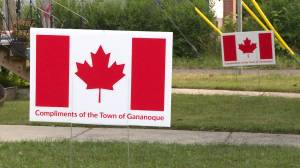 Sign-sational town of Gananoque gearing-up for Canada Day