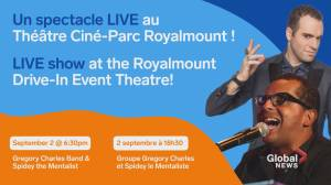 Community Events: Gregory Charles at Royalmount Drive-In Theatre (00:35)