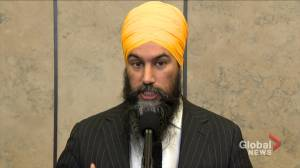 Singh on what concrete steps he expects Trudeau to take on climate change fight