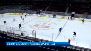 Calgary Flames Foundation postpones online 50/50 raffles until further notice