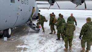 Canadian Forces members head to Newfoundland to help province dig out after winter storm