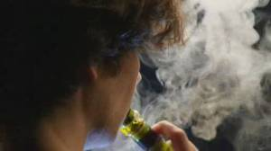 Legal cannabis vaping products ignite health concerns (02:15)
