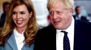 British PM Boris Johnson and fiancée announce birth of son