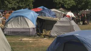 Residents demand action on Strathcona Park encampment