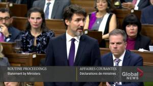 Trudeau pays tribute to Iran plane crash victims in House of Commons