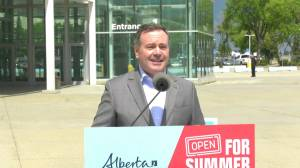 Alberta launches Open For Summer Lottery to boost COVID-19 vaccine uptake (02:31)