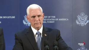 Pence says YPG forces have agreed to move out of region after Turkey agrees to ceasefire