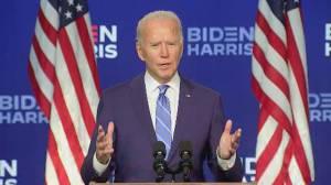 America Votes 2020: Biden urges patience, remains confident about victory (04:30)