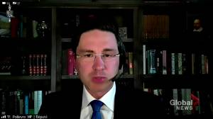 Trudeau, Poilievre engage in heated exchange regarding dollar amount paid out to Trudeau family by WE Charity