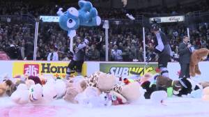 Vancouver Giants host 2020 Teddy Bear Toss online (02:14)