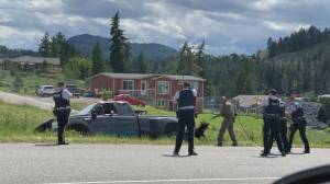 Video of RCMP officers with weapons drawn on driver in Westbank First Nation