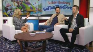 The Property Brothers stop by TMS