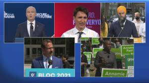 Decision 2021: Where the parties stand on campaign trail (04:16)