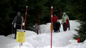 Elevated avalanche risk as winter arrives in B.C. (01:32)