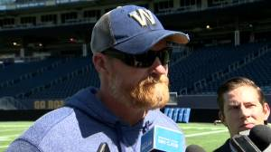 RAW: Blue Bombers Mike O'Shea Media Briefing – Sept. 4