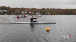 Training for Tokyo: Canadian sprint kayaker preps for the Olympics (03:36)