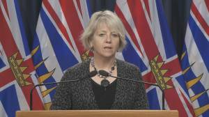 B.C. reports 1,475 new cases over three day reporting period, additional 22 deaths (03:45)