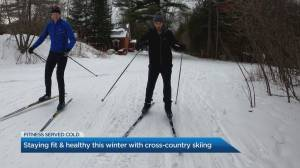 Fitness Served Cold: Cross country skiing