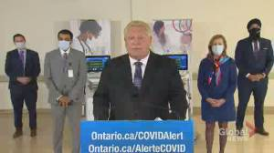 Coronavirus: Ontario to add an additional 766 hospital beds amid COVID-19 pandemic (00:41)