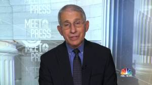 Fauci says 3 approved COVID-19 vaccines 'really quite good,' urges public to accept shots (01:57)